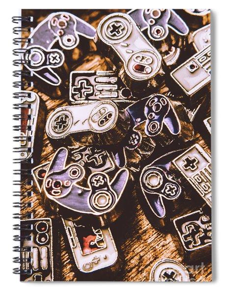 Emulating The Classics Spiral Notebook