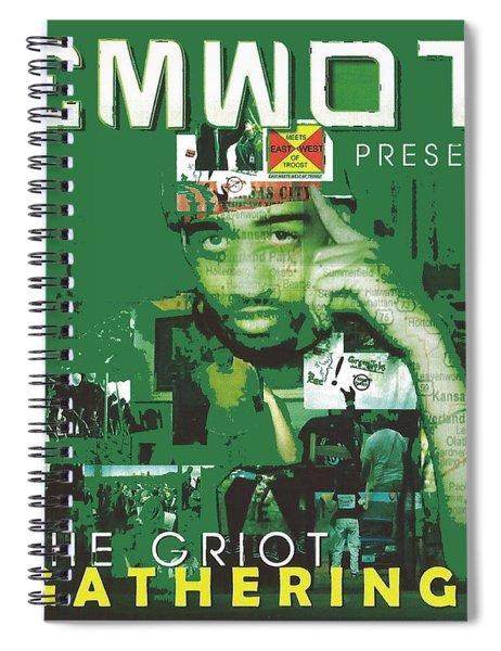Emwot Griot Gathering Spiral Notebook
