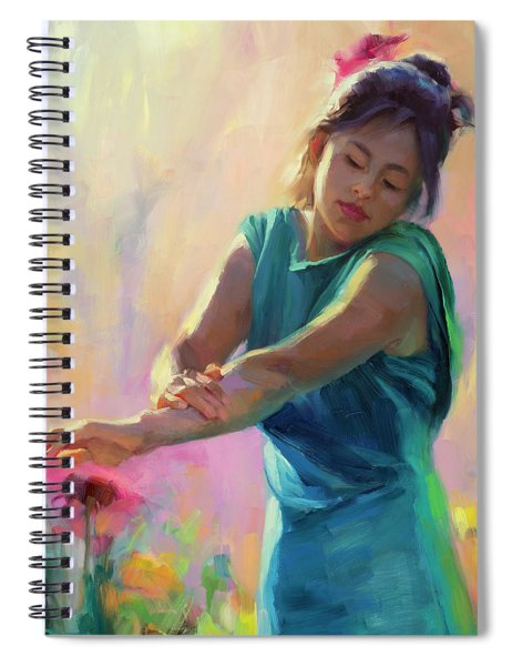 Enchanted Spiral Notebook