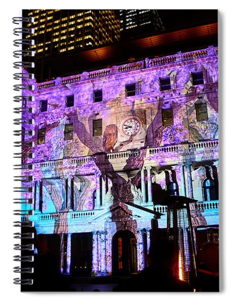 Enchanted Sydney - Wisteria By Kaye Menner Spiral Notebook