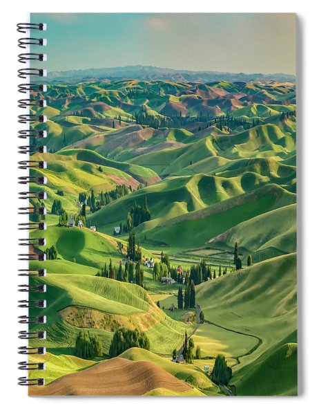 Enchanted Valley Award Winner Spiral Notebook