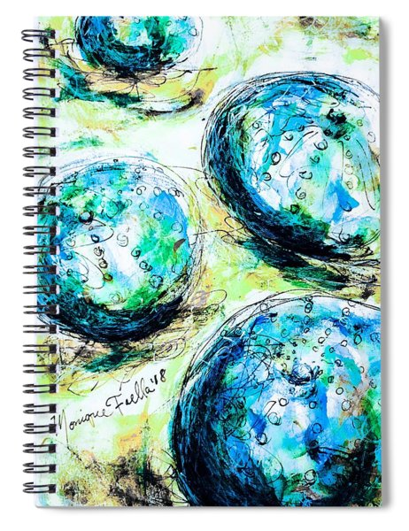 Enchanthing Sea Urchins Spiral Notebook