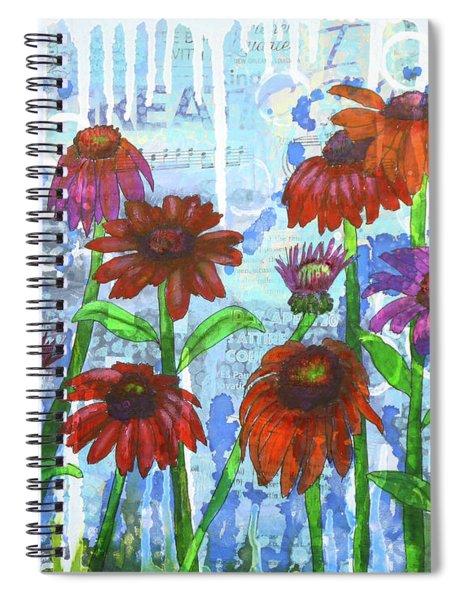 Enchanting Echinacea Spiral Notebook