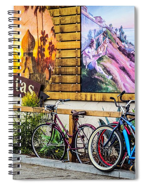 Bicycle Parking Spiral Notebook