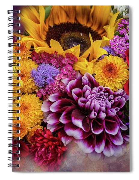 End Of Summer Spiral Notebook