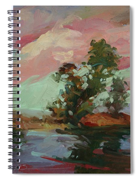 End Of The Cottonwoods Spiral Notebook