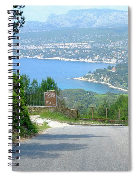 End Of The Route Spiral Notebook