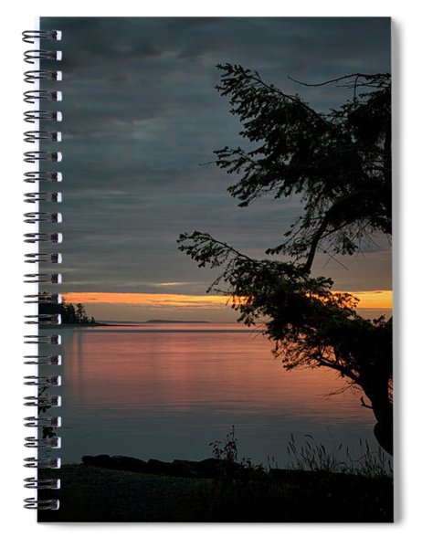 End Of The Trail Spiral Notebook