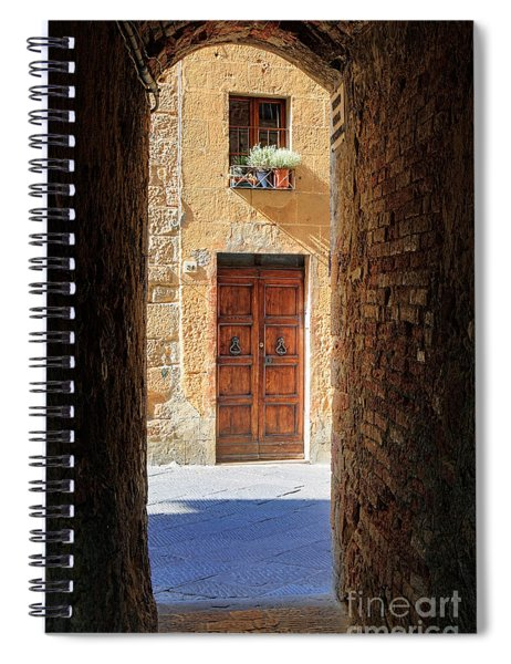 End Of The Tunnel Spiral Notebook