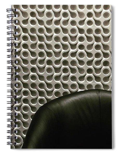 Endless Design. #haveaseat Spiral Notebook