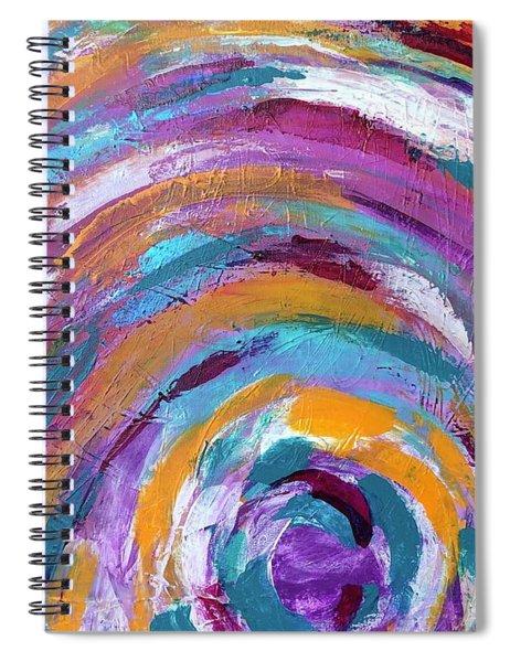 Endless Rainbow Spiral Notebook