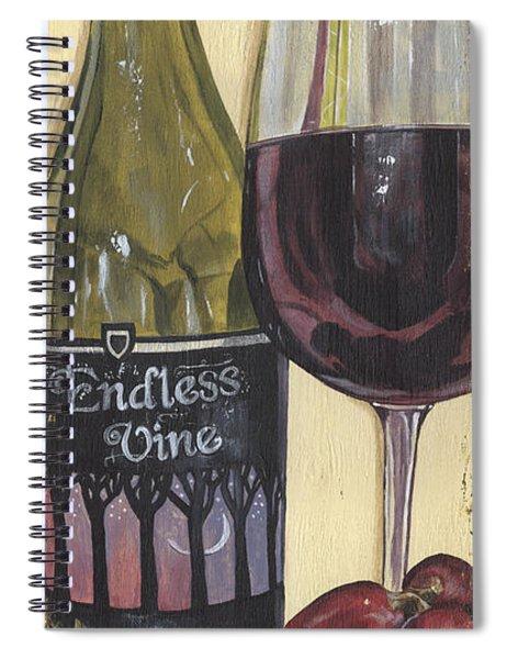 Endless Vine Panel Spiral Notebook