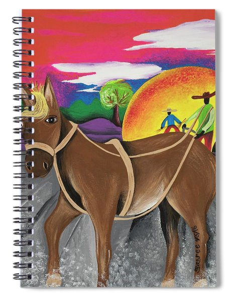 Endurance Spiral Notebook