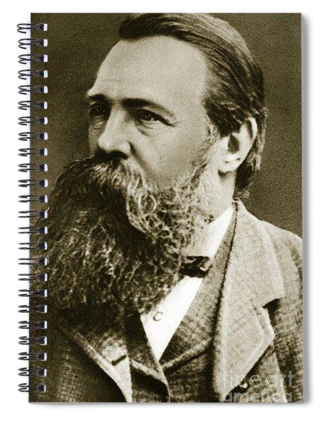 Engels Spiral Notebook