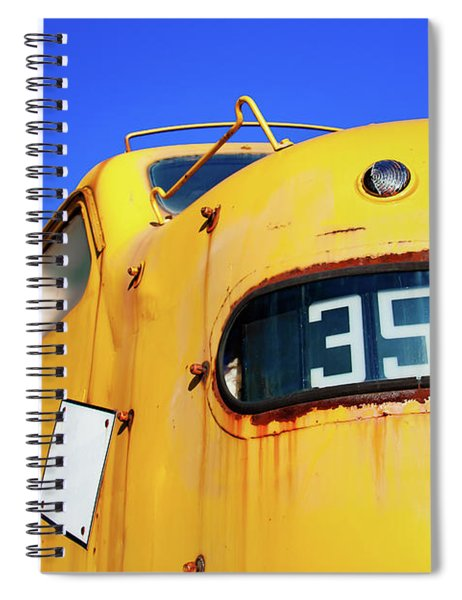 Engine 35a Spiral Notebook