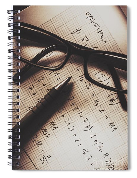 Engineer Students Technical Equations In Mechanics Spiral Notebook
