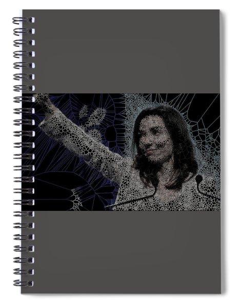 Engineer Woman Spiral Notebook