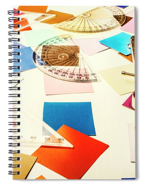 Engineering Colour Rules Spiral Notebook