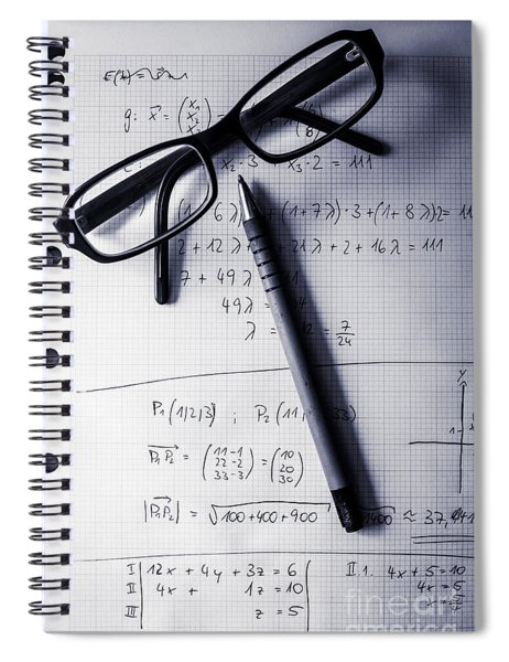 Engineering Student Calculations Spiral Notebook