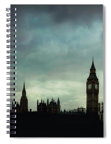 England's Glory Spiral Notebook