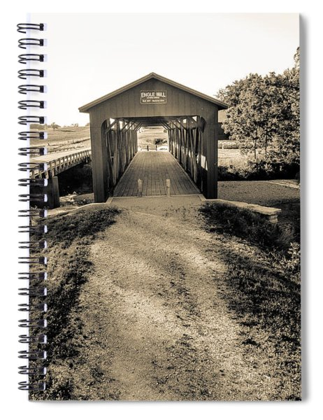 Engle Mill Covered Bridge Spiral Notebook