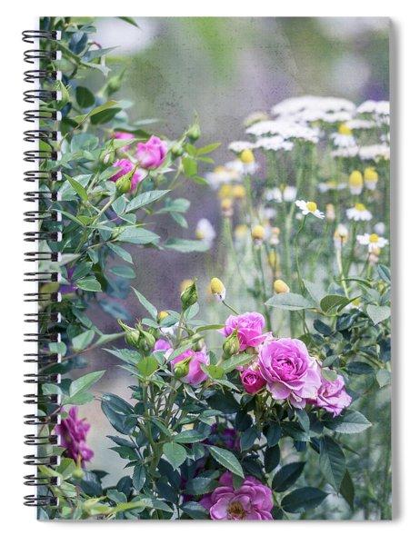 English Garden Spiral Notebook