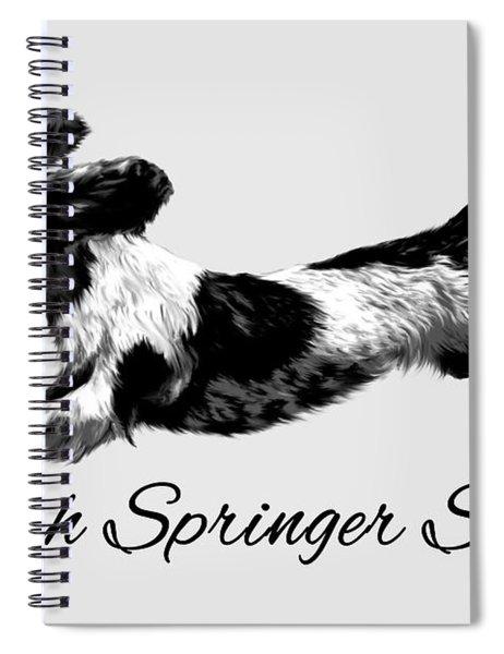 English Springer Spaniel Spiral Notebook