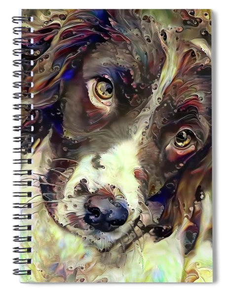 English Springer Spaniel Soulful Stare Spiral Notebook