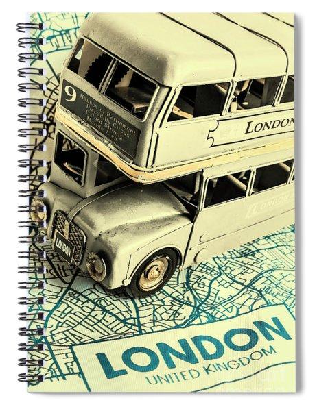 English Way Spiral Notebook