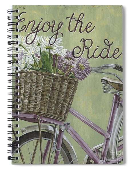 Enjoy The Ride Spiral Notebook