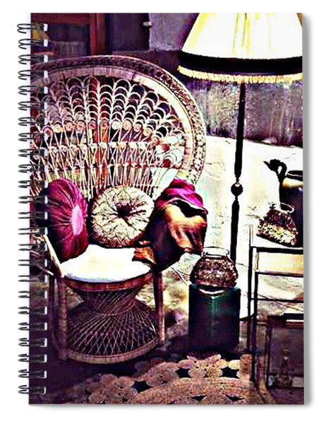 Enjoy The Silence Spiral Notebook