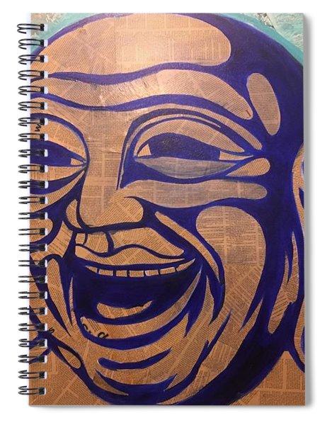 Enjoy The Way Spiral Notebook