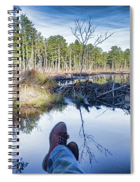 Enjoying The View Spiral Notebook