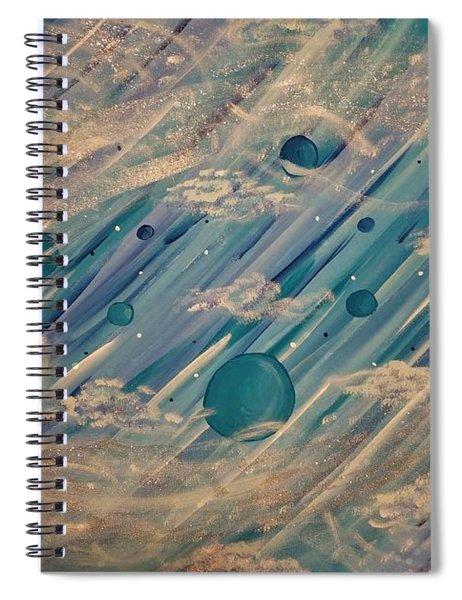 Enlightened Universe Spiral Notebook