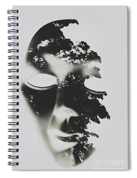 Enlightenment Within Spiral Notebook