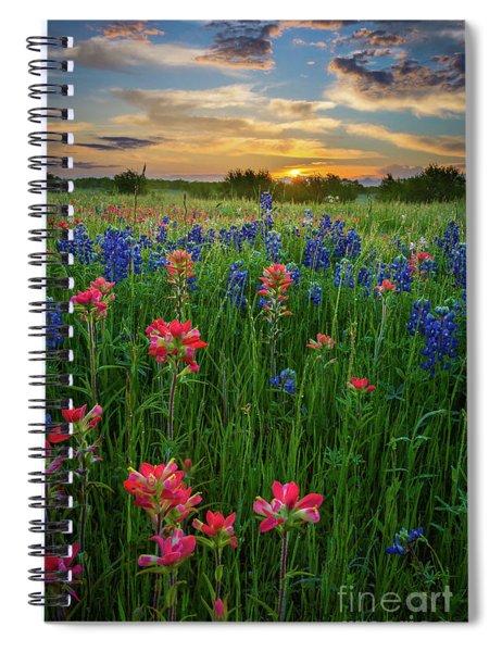 Ennis Twilight Spiral Notebook