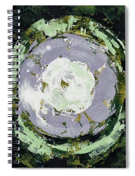 Enso Of Lavender Spiral Notebook