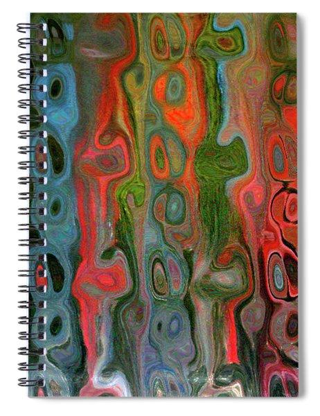Entangled States Spiral Notebook