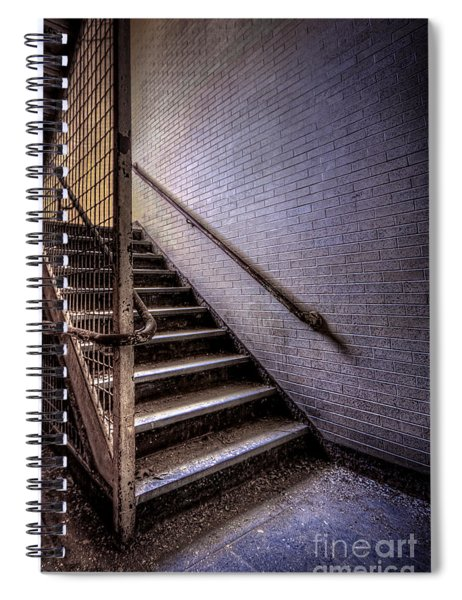 Enter The Darkness Spiral Notebook