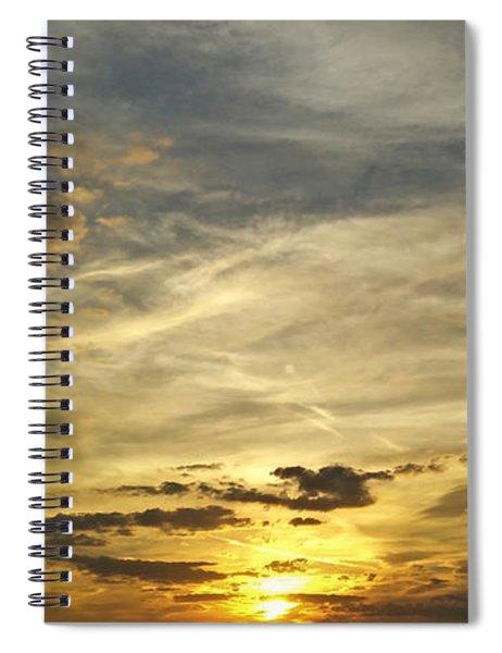 Enter The Evening Spiral Notebook
