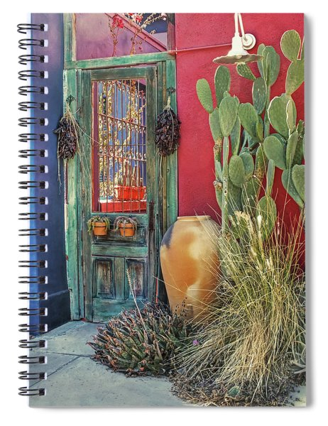 Enter - You Are Always Welcome Spiral Notebook