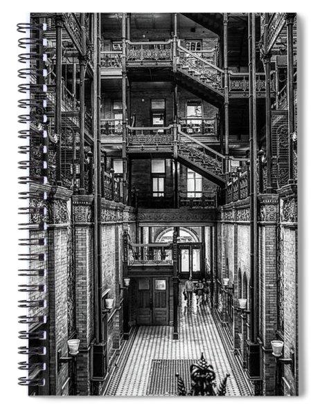 Entering The Bradbury B And W  Spiral Notebook