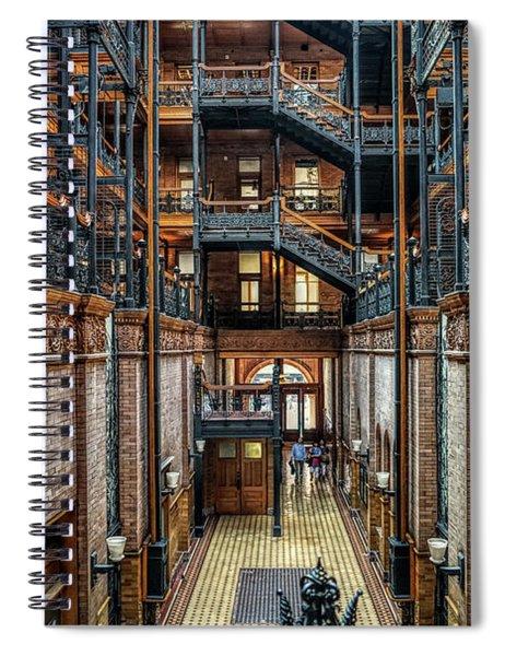 Entering The Bradbury Spiral Notebook
