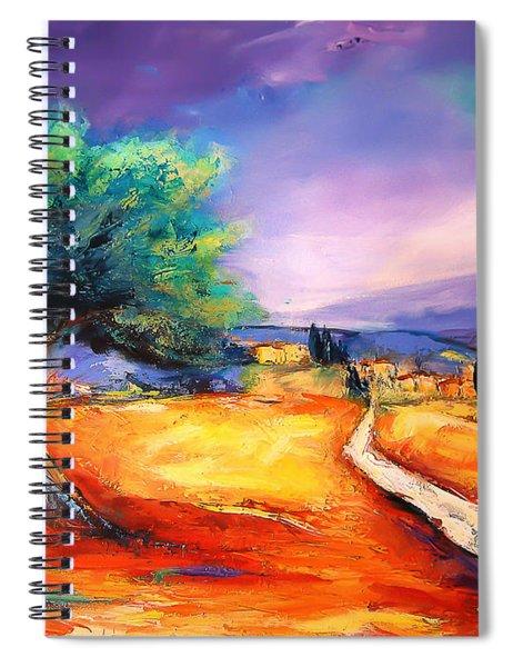 Entering The Village Spiral Notebook