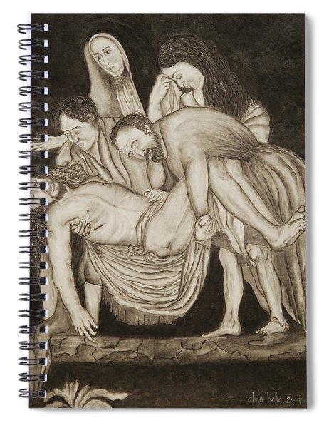 Entombment Spiral Notebook