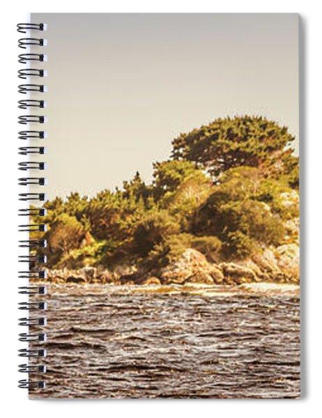 Entrance Island Lighthouse, Hells Gates Spiral Notebook