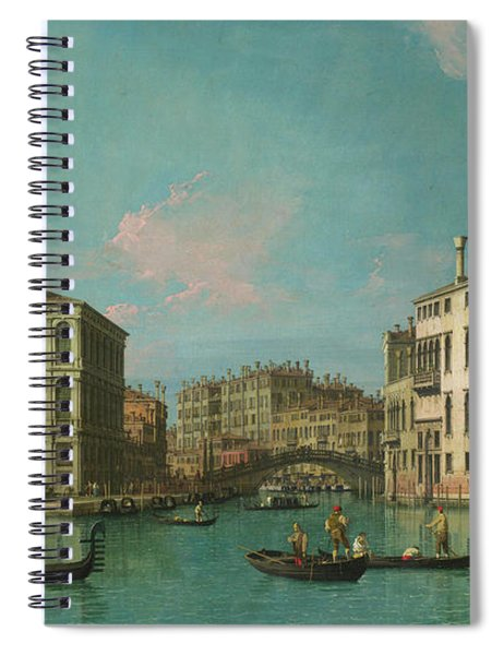 Entrance To The Cannaregio Spiral Notebook