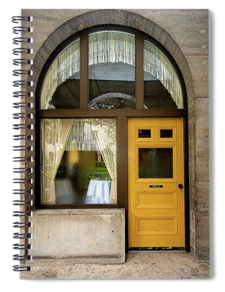 Entry Geometrics Spiral Notebook