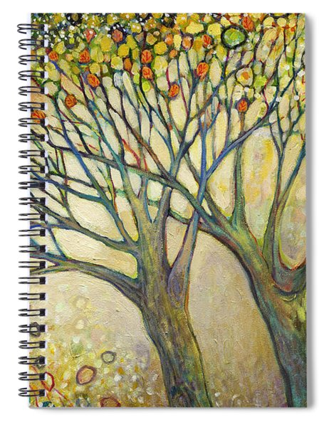 Entwined No 2 Spiral Notebook