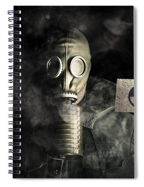 Nuclear Threat Spiral Notebook